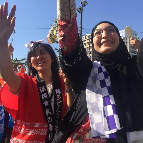 Event Report: Hakata Dontaku Parade
