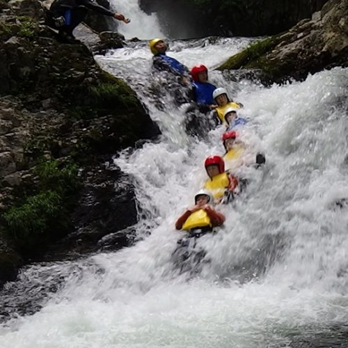 Event Information: Experience Canyoning