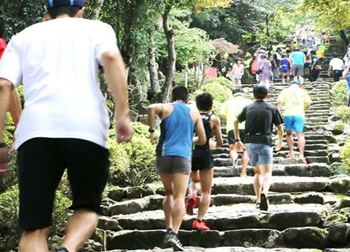 Event Information: The Race running up the stairs of the Hikosan Mountain