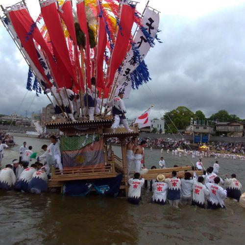 イベントレポート:川渡り神幸祭