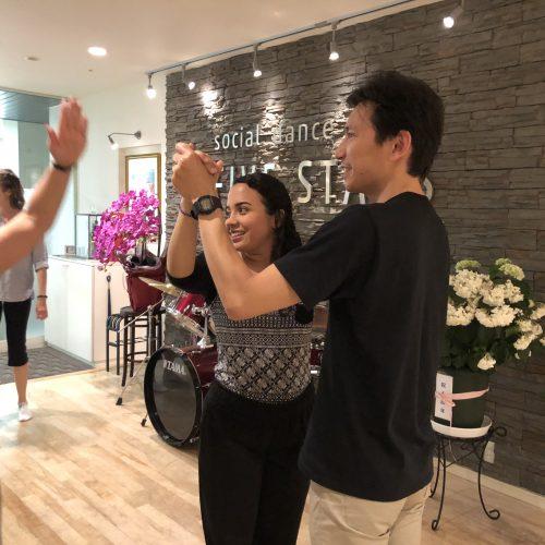 イベントレポート:社交ダンスレッスン